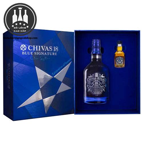 Rượu Chivas 18 Blue Hộp Quà 2018 - douongngoainhap.com