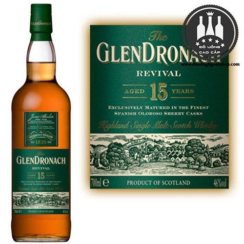 rượu glendronach 15