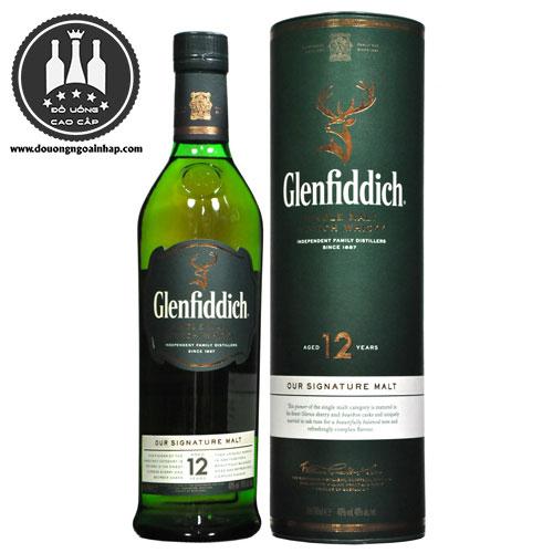 Rượu Glenfiddich 12 năm - douongngoainhap.com