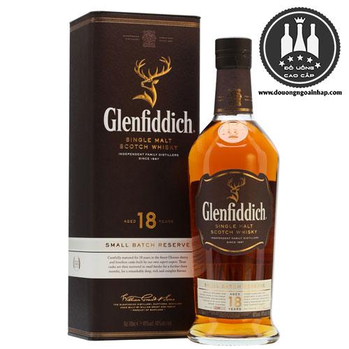 Rượu Glenfiddich 18 năm - douongngoainhap.com