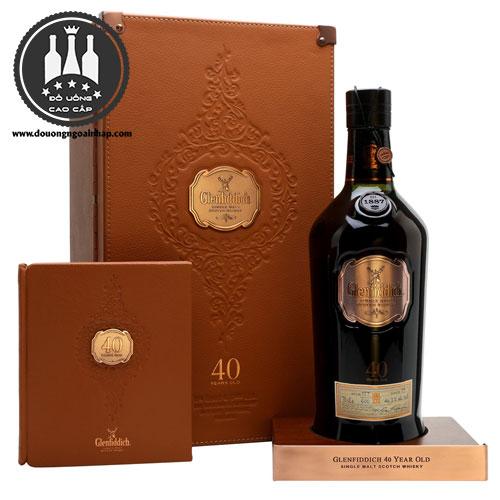 Rượu Glenfiddich 40 năm - douongngoainhap.com