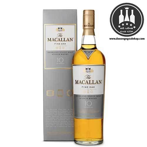 Rượu Macallan 10 năm Sherry Oak - douongngoainhap.com