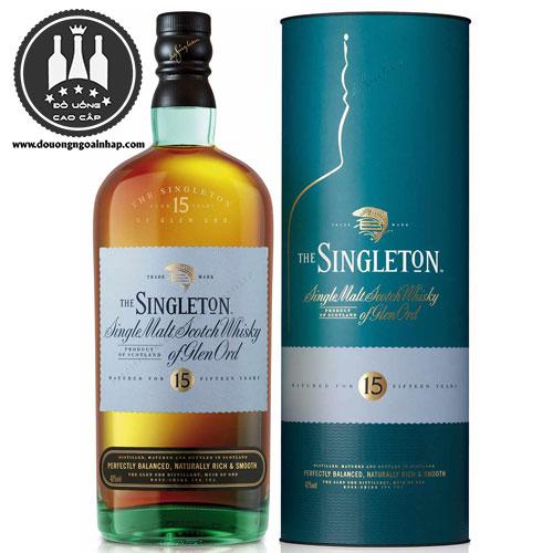 Rượu Singleton 15 năm - douongngoainhap.com