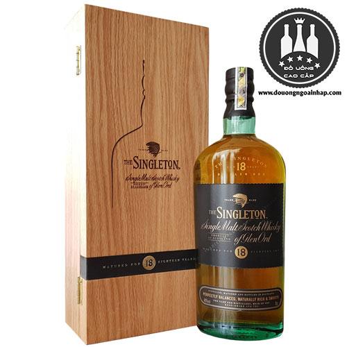 Rượu Singleton 18 năm - douongngoainhap.com