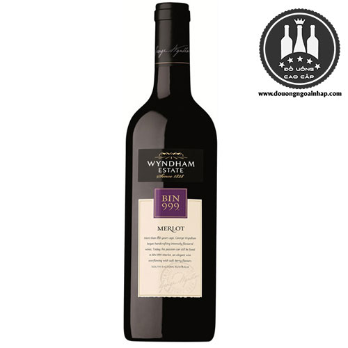 Rượu Vang Bin 999 Merlot - douongngoainhap.com