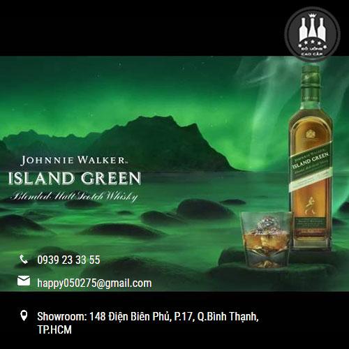 Rượu Johnnie Walker Island Green