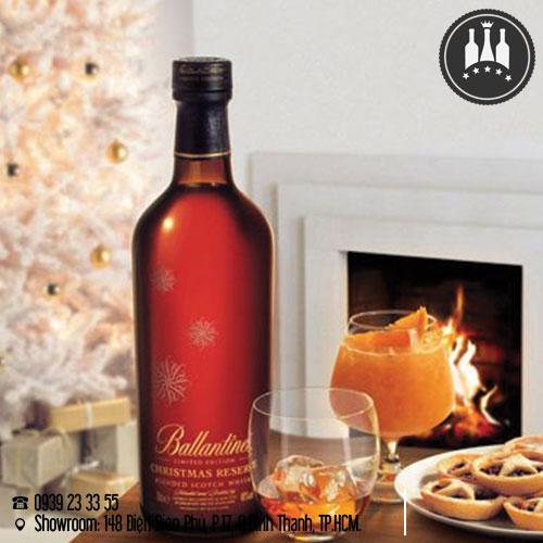rượu ballantines christmas reserve