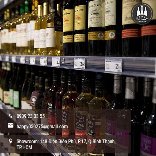 có nên mua rượu ngoại ở siêu thị