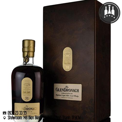rượu glendronach 31 năm