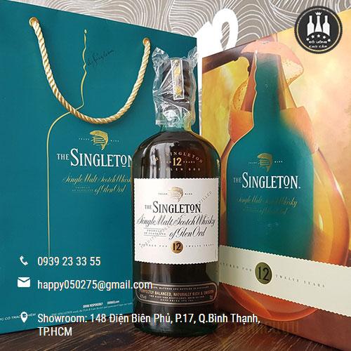 Rượu Singleton 12 năm hộp quà Tết 2017