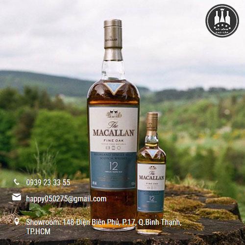 Rượu Macallan 12 Fine Oak