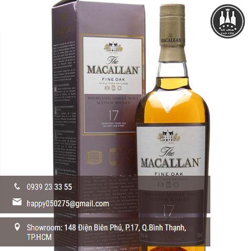 rượu macallan 17 năm
