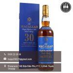 rượu macallan 30 sherry oak