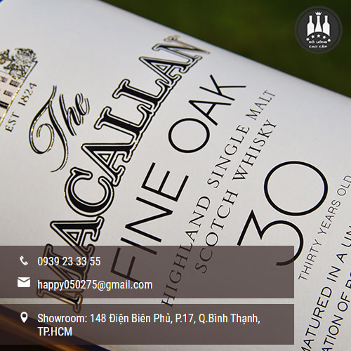 rượu macallan 30 fine oak