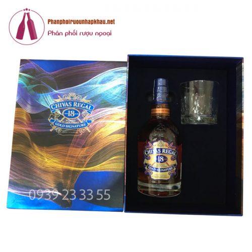 CHIVAS HỘP QUÀ MẪU 2019: Hộp Quà Tết 2019-Chivas 18 Gift Box