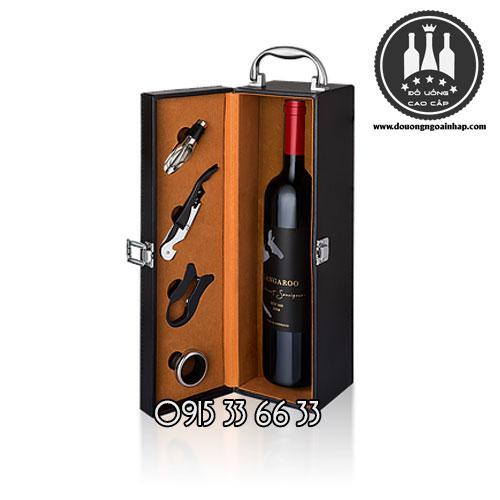 Rượu vang Kangaroo Bin 188 hộp quà do L&S WINE sản xuất - Rượu Vang Úc