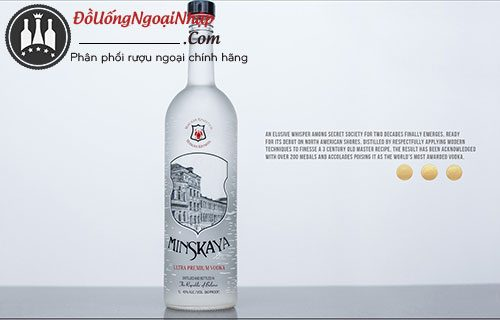 rượu vodka minskaya