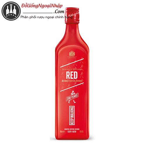 johnnie walker red 200th anniversary