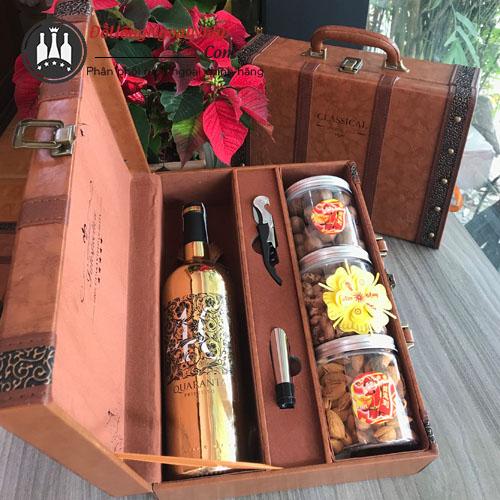Hộp quà Rượu Vang Quaranta
