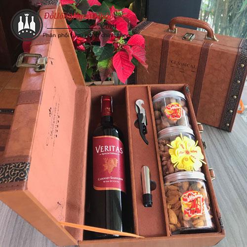 Hộp quà Rượu Veritas