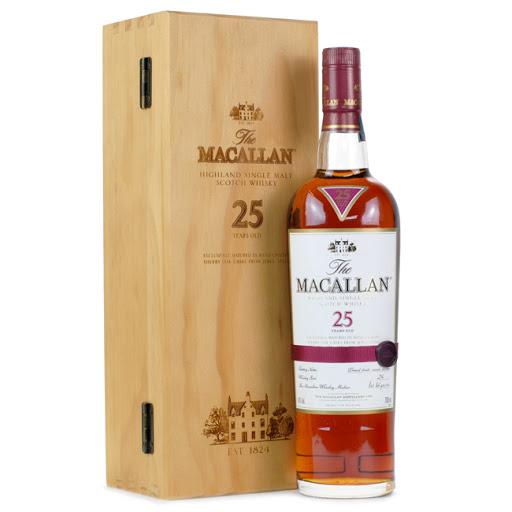 Giá rượu Macallan 25 chính hãng chất lượng
