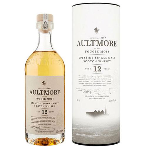Rượu Aultmore 12 năm: Chai Whisky Speyside mới mẻ