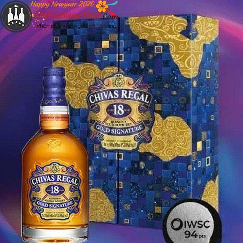 Rượu Chivas 18 Gold hộp quà Tết 2022