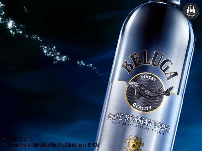 phân biệt rượu beluga giả