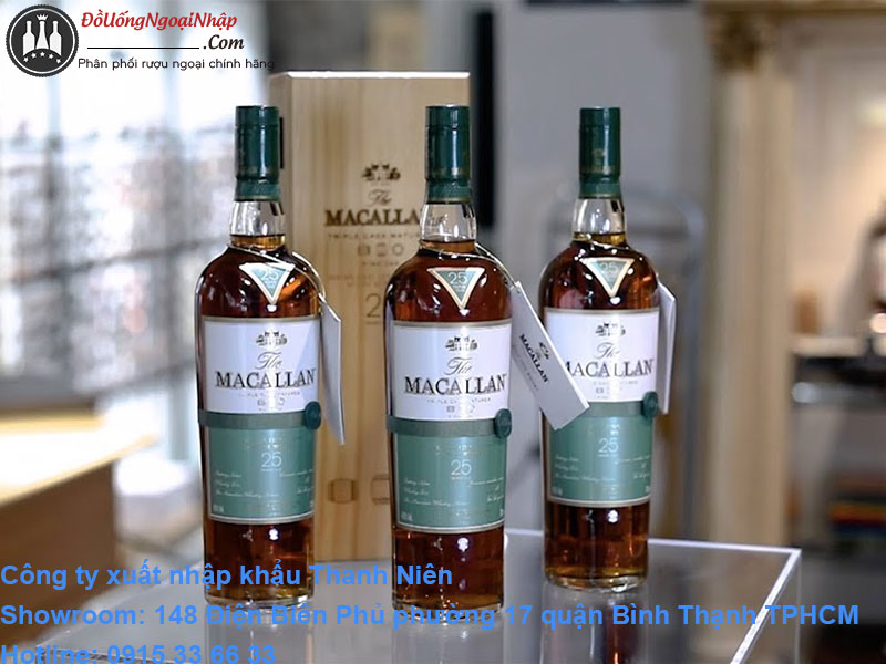 giá rượu macallan 25