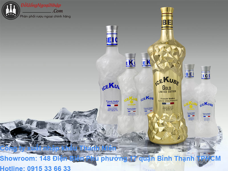 vodka ice kube
