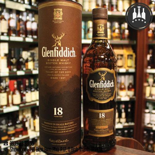 rượu glenfiddich 18