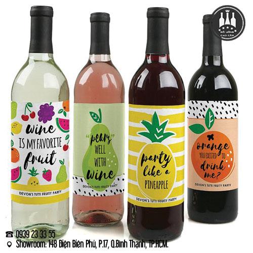 rượu vang trái cây
