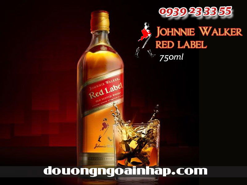 rượu johnnie walker red label
