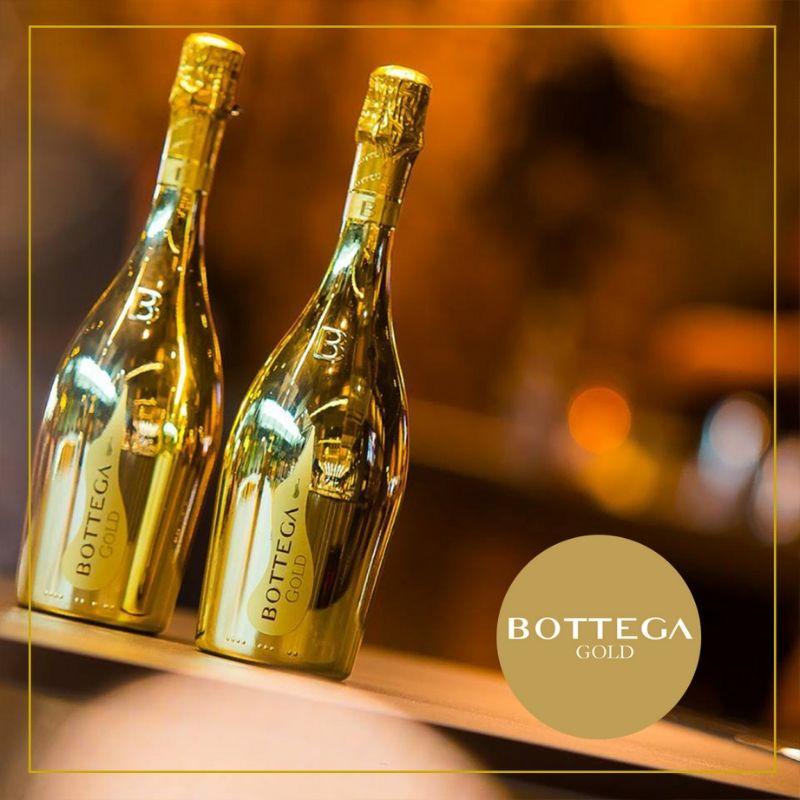 rượu champagne ý bottega gold