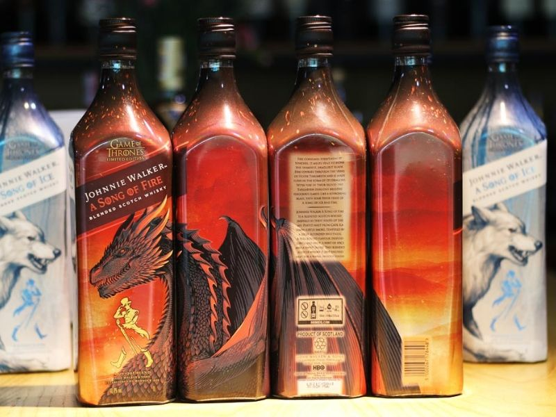 Rượu Johnnie Walker A Song Of fine Game of Thrones